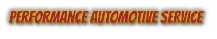 Performance Automotive Service